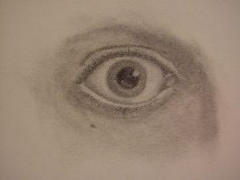 Eye in Graphite by voodoochild84