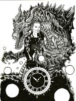Hannah and the Dragon of Time by Virus-91