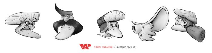 DAC Shape Challenge - December 2015 by StMan