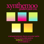 Gradient Pack One by Xynthemoo