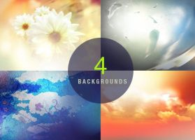 High Resolution Photoshop Backgrounds Templates by Godserv