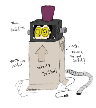 Just an ordinary Jailbot by CharleydoesArt