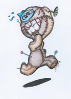scared voodoo doll by Tarcis1000