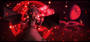 [Halloween Collab]The Sisters of Scarlet Mansion by FukkatsumiMori