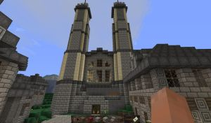 New Vorge Cathedral - Front by Spacer176