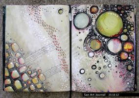 Art Journal 23 by San-T