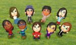 Tomodachi Life - The Whole Gang by elrunion136