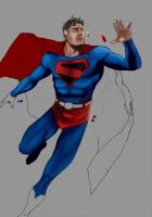 superman 'w.i.p' 2 by andloco