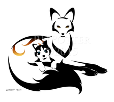 The Fox and the Husky by RHPotter
