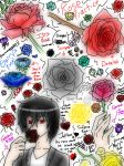 Practice Drawing Roses by LucarioZelda2000