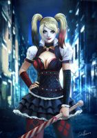 Harley Quinn  Batman Arkham Knight by Kermad
