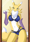 Digimon : Renamon by Artemisumi