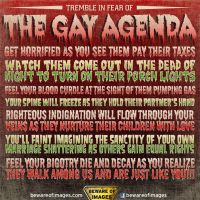 Gay Agenda :I by Blinkawesome