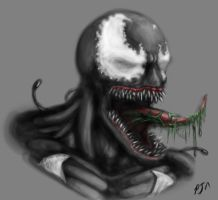 Daily Speedpaint #1: Venom by andepoul