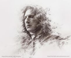 Severus Snape by Michelle-Winer