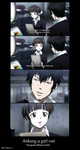 pick up line Kougami Shinya style by Freaqoe