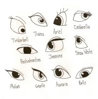 Disney Eyes by WinxGirl6756
