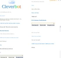 Oh Cleverbot by VotrePoison