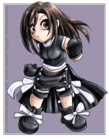 Chibi Advent Children Tifa by tifachan