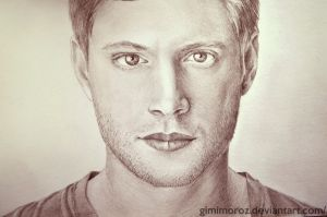 Jensen Ackles by gimimoroz