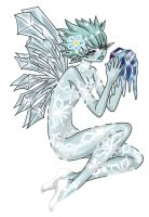 Ice Fairy by spiderliing666
