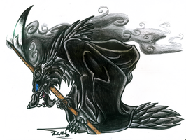 Scythe The Wolf by Eviecats