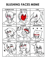 Blush Meme: Yurichi by KEEBsification