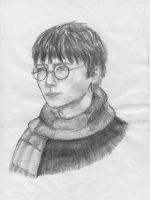 Portrait Practise 1 - Harry Potter by crittercat