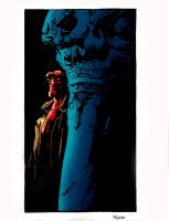 hellboy in praga by mignola by namorsubmariner