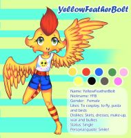YellowFeatherBolt ref by YellowFeatherBolt