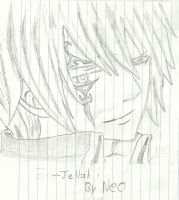 Jellal by dragoonslayerneo