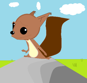 Sam the Squirrel (contest entry) by lapizcreep