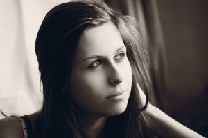Canon 5D - A beautiful girl in sepia by MilanVopalensky