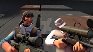 [SFM] When I play sniper by LurioAsplund