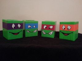 TurtleTissue boxes by DuctileCreations