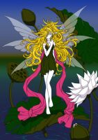 Fairy and Lilies by Sureya by vhartley