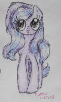 My OC front view by flufffur