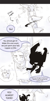 LoZ: Air Traffic -comic- by Ferisae