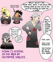 Hidan's Usefulness by Master-chiefette
