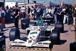 Toleman TG185 (Great Britain 1985) by F1-history