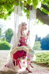 On the swing by Elsa-Cosplay