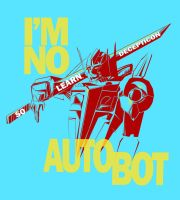 NO Autobot by deu1