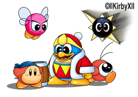 King Dedede the 1st and only by llKirbyXll