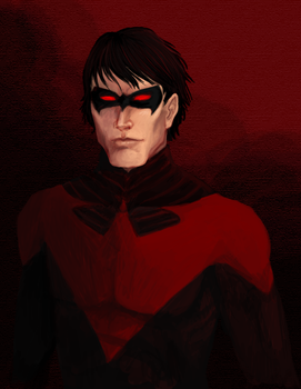 Nightwing by R-Newman