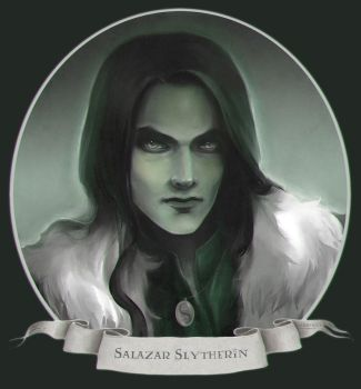 :Salazar Slytherin: by half-ralf