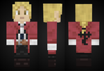 minecraft: Edward Elric Skin Preview by mineskinz
