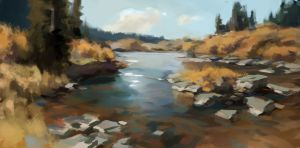 Painting Study Scott L Christensen by JordyLakiere