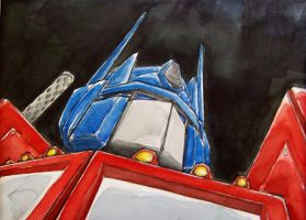 Optimus Prime by mjfletcher