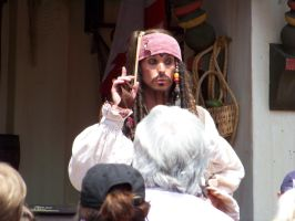 Jack Sparrow at Disney World by Dream-finder