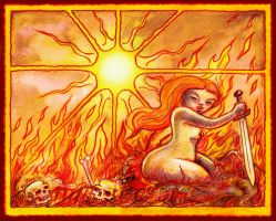 Fire Goddess by offermoord